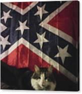 Rebel Cat Canvas Print