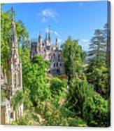 Regaleira Palace Sintra Canvas Print