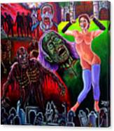 Return Of The Living Dead Canvas Print