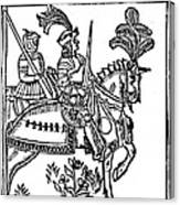 Richard I (1157-1199) Canvas Print
