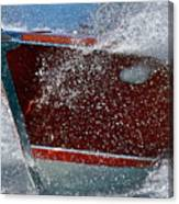 Riva Splash Canvas Print