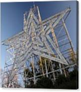 Roanoke Star In Late Afternoon Canvas Print