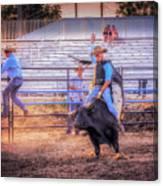 Rodeo Rider Canvas Print