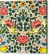 Rose Design Canvas Print