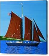 Roseway On Lake Superior Canvas Print