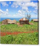Rural Landscape In Tanzania Canvas Print