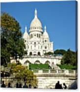 Sacre-coeur /  Basilica Of The Sacred Heart Of Paris Canvas Print