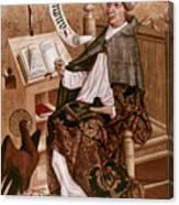 Saint Augustine (354-430) Canvas Print