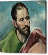 Saint James The Younger Canvas Print