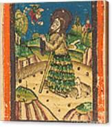 Saint Onuphrius Canvas Print