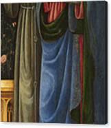 Saints Francis And Mark Canvas Print