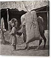Samarkand: Transport, C1870 Canvas Print
