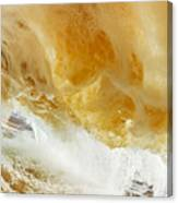 Sandy Wave Canvas Print