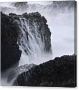 Seal Rock Waves And Rocks 4 Canvas Print