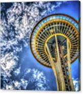 Seattle Space Needle Canvas Print