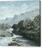 Serenity - Tranquil Stream Canvas Print
