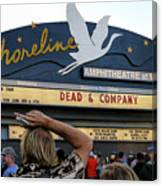 Shoreline Amphitheatre - Dead And Company Canvas Print