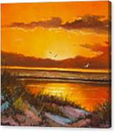 Siesta Sunset Canvas Print