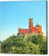 Sintra Pena Palace Canvas Print