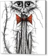 Skinny Cat Canvas Print