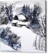Snowed In Canvas Print