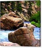 South Platte River Canvas Print