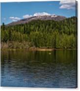 South Skookum Lake Canvas Print