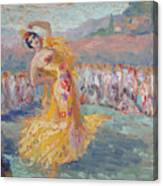 Spain Dancer Canvas Print