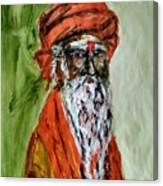 Spiritual Guru Canvas Print