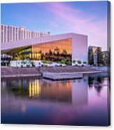 Spokane Washington City Skyline And Convention Center Canvas Print