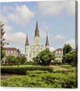 St. Louis Cathedral - Hdr Canvas Print