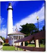 St Simons Island Lighthouse Canvas Print