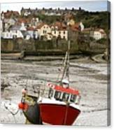 Staithes, North Yorkshire, England Canvas Print