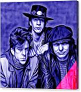 Stevie Ray Vaughan And Double Trouble Collection Canvas Print