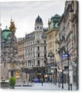 Streets Of Vienna Canvas Print