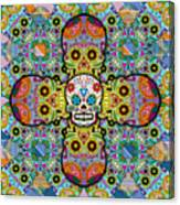 Sugar Skulls Canvas Print