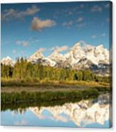 Sunrise In Wyoming Canvas Print