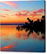 Sunrise / Sunset / Indian River Canvas Print