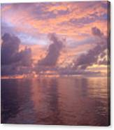 Sunrise Canvas Print