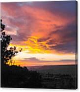 Sunset At Yaki Point Canvas Print