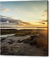 sunset Iceland Canvas Print