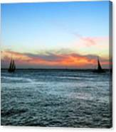 Sunset Key West  Canvas Print