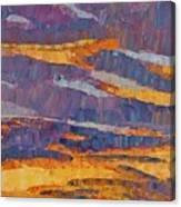Sunset On Paseo Canvas Print