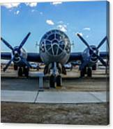 Superfortress Canvas Print