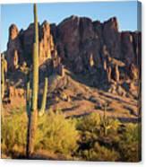 Superstition  Mountains Arizona Canvas Print
