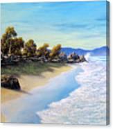 Surf Surge Canvas Print