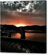 Tennessee River Sunset Canvas Print