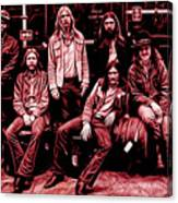 The Allman Brothers Collection Canvas Print