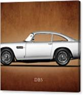 The Aston Martin Db5 Canvas Print