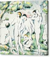 The Bathers Canvas Print